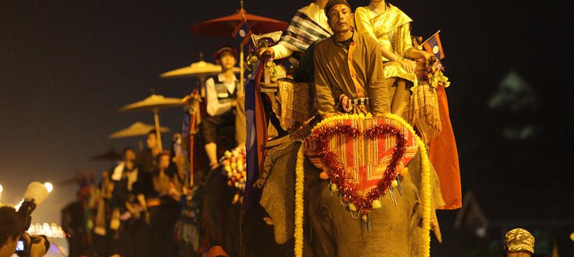 Elephant festival Laos